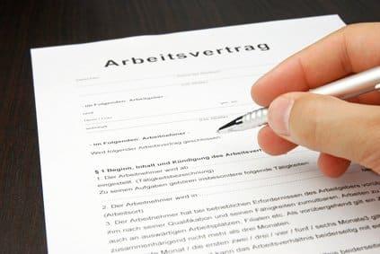 Les démarches administratives d'une embauche suite à un stage en Allemagne