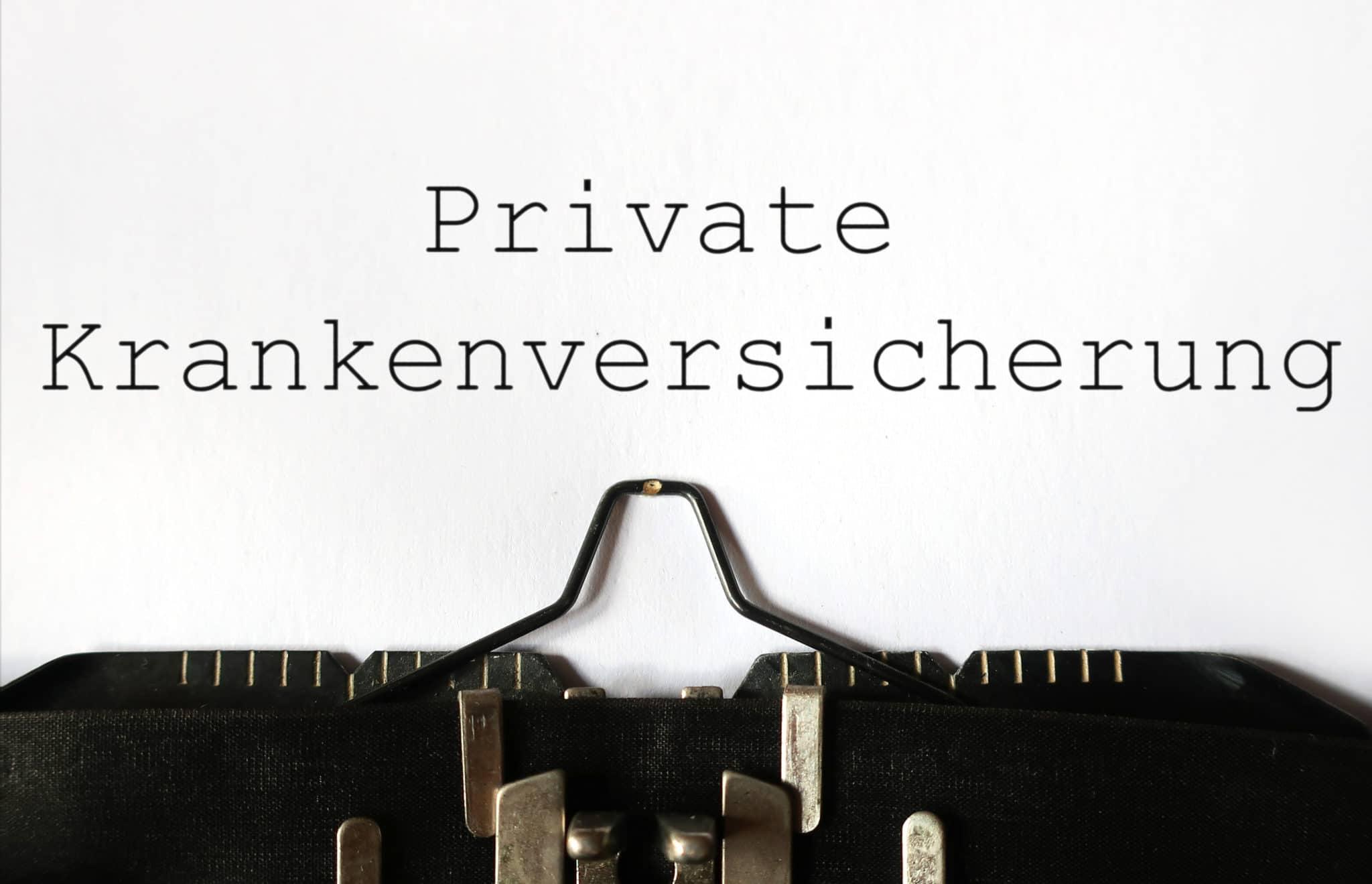 L'assurance privée en Allemagne